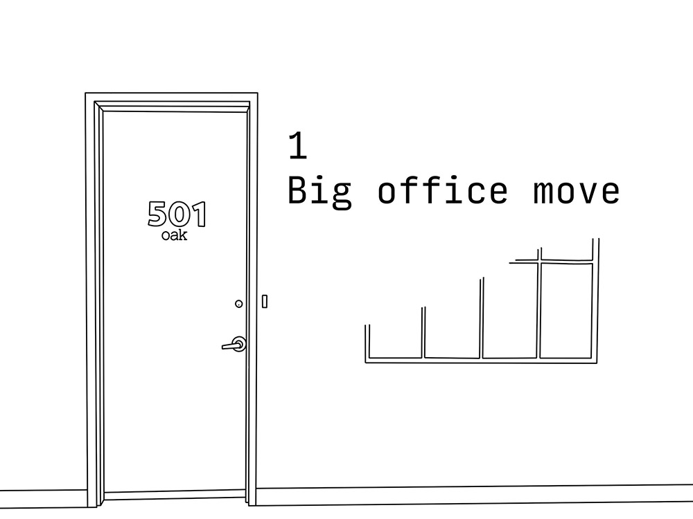 1 big office move