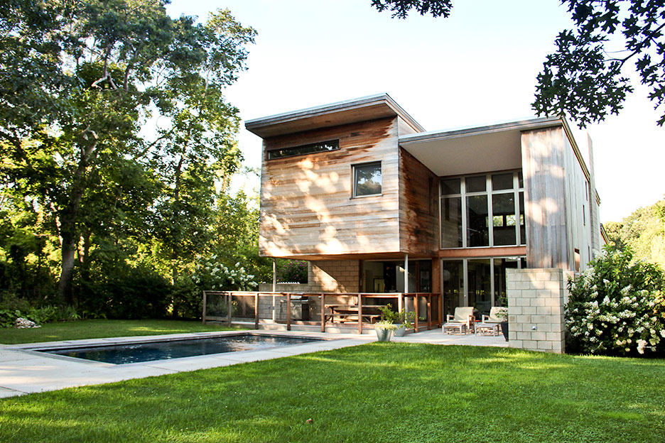 East Hampton house by Berg Design Architecture