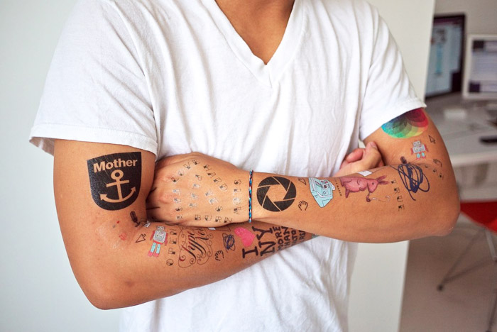 Kevin Huynh modeling the entire Tattly line